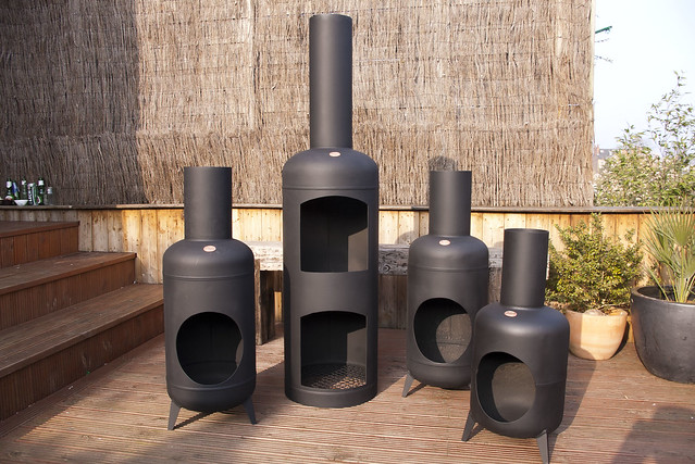 gas bottle chimineas flickr photo sharing. Black Bedroom Furniture Sets. Home Design Ideas