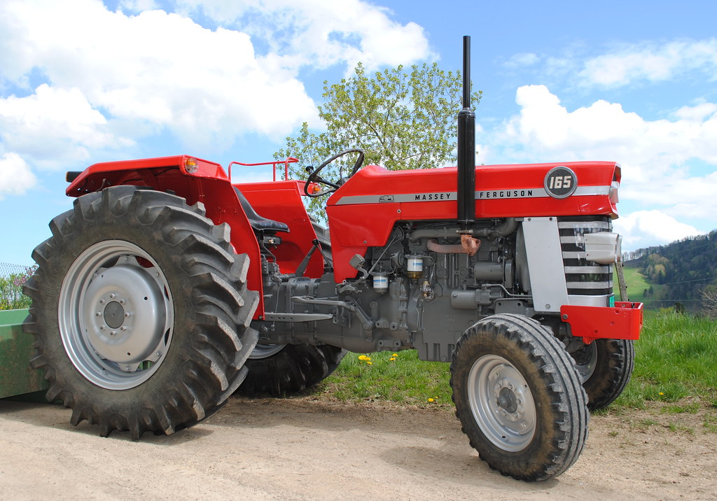 Mf Tractor 165 Value : Transporthjul massey ferguson