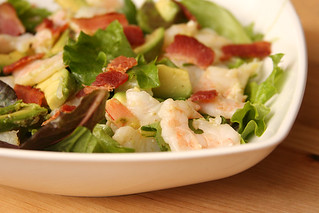 shrimp avocado salad 5 | by crumblycookie
