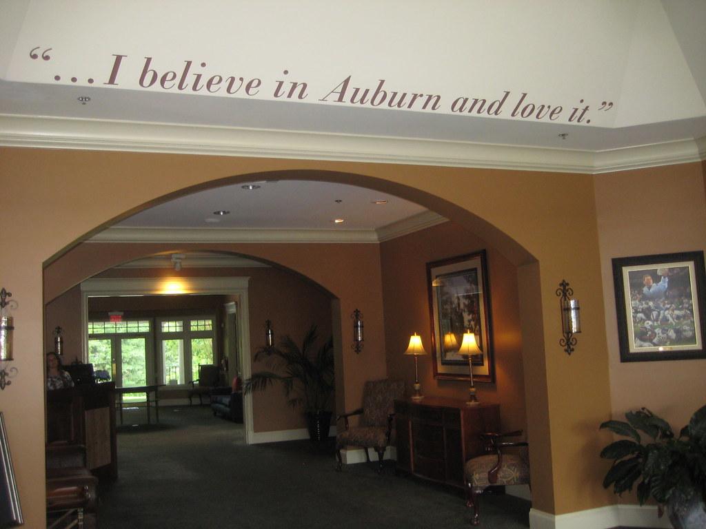 Renovating auburn university club auburn alums mike - Auburn university interior design program ...