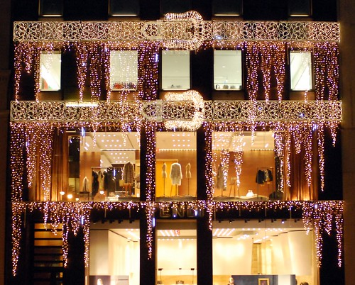 Fendi Fifth Avenue Christmas Holiday window display | by NYC♥NYC