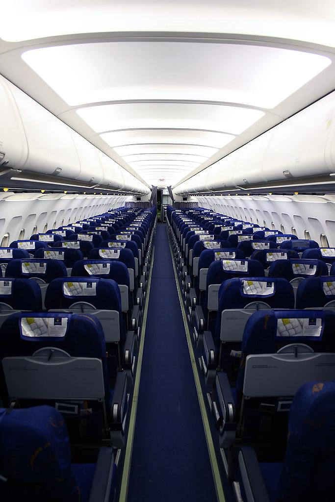 Interior A320 Spanair | Comparad este interior con ...