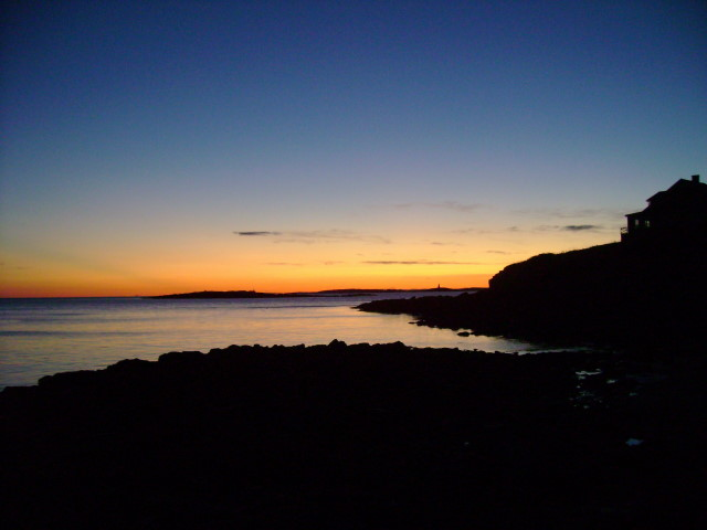 Bailey island maine sunset at land 39 s end november 19 for Free land maine