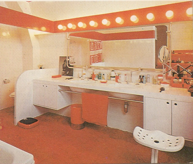 Fantastic 70s Bathroom Except For The Carpeting Quot House