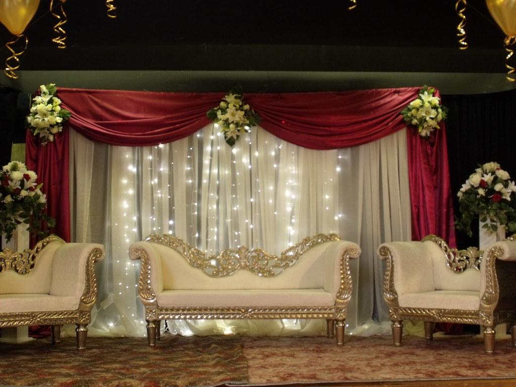Interior Design For Wedding Stages