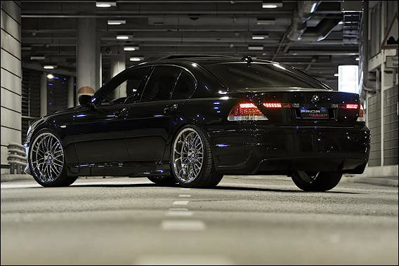 Bmw 7 Series E65 E66 Black 745i On Chrome 21 Quot Wheels Flickr