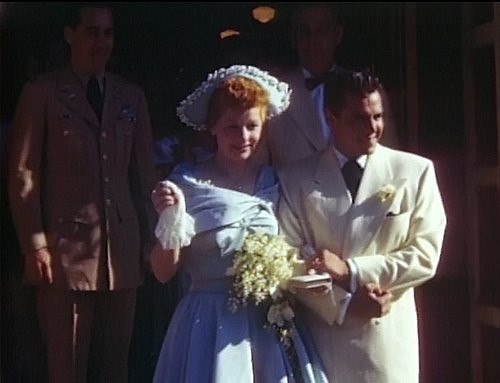 Lucy And Desi Renewing Their Wedding Vows