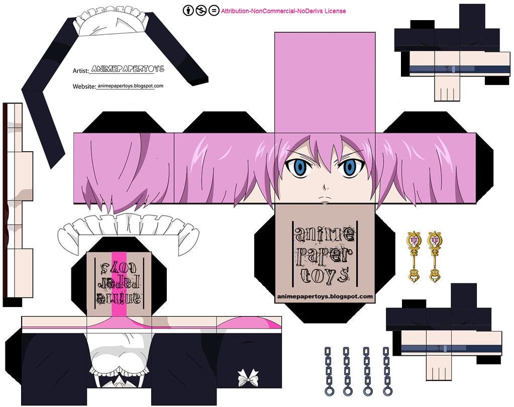 VIRGO (FAIRY TAIL) | animepapertoys | Flickr