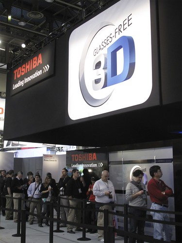 Glasses-Free 3D TV at Toshiba | by International CES