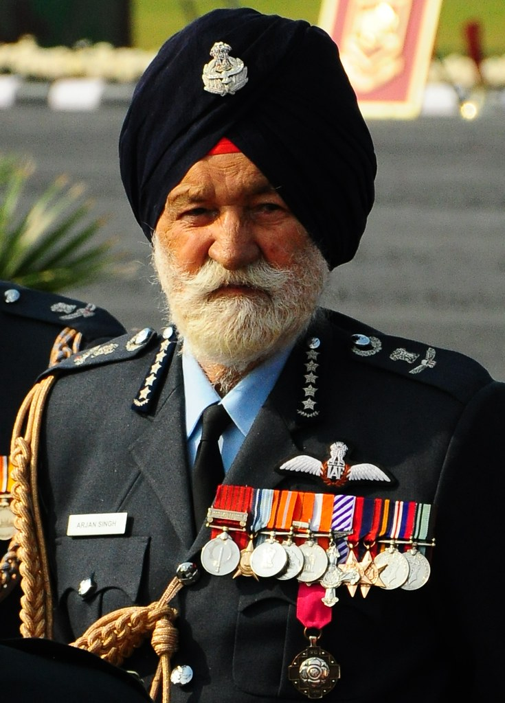 Image result for ARJAN SINGH THE MARSHAL OF THE INDIAN AIR FORCE PASSES AWAY