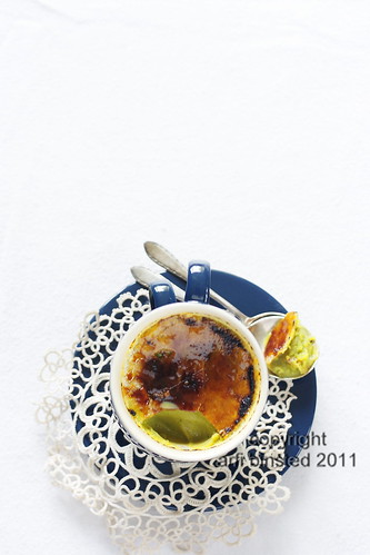 green tea creme brulee | by Arfi Binsted of HomeMadeS