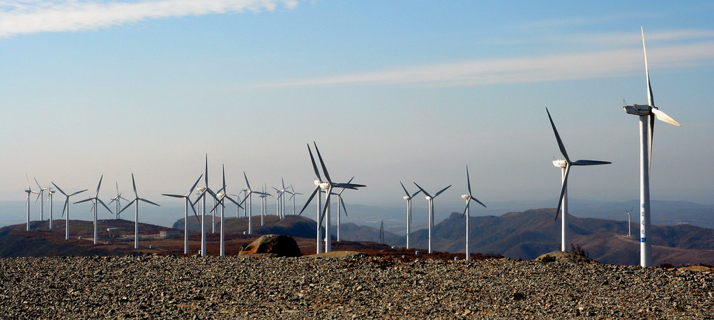White Land Rover >> Mulan Wind Farm | Mulan is located approximately 170km ...