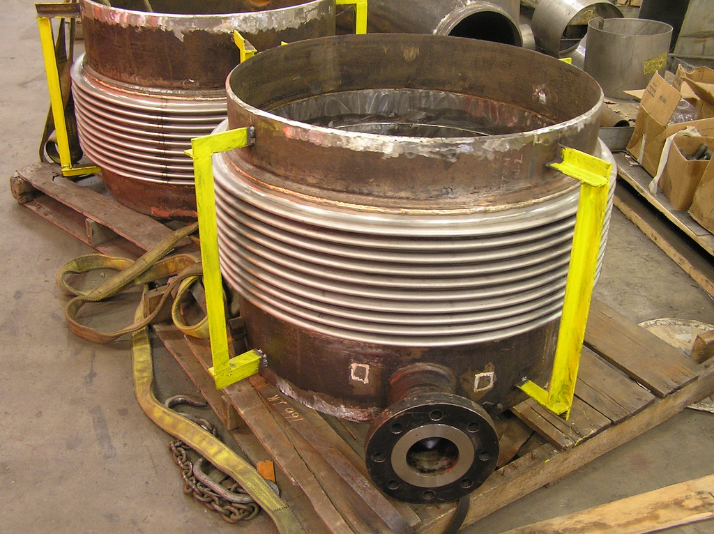 Expansion joints for a heat exchanger company in japan