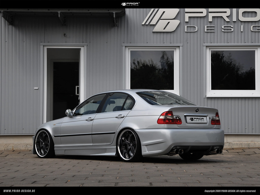 Prior Design Bmw E46 3 Series 328 335 Limousine Aerodynami
