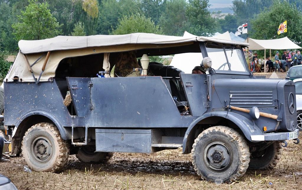 Mercedes-Benz L1500A Kfz.40 command car | German WWII ...