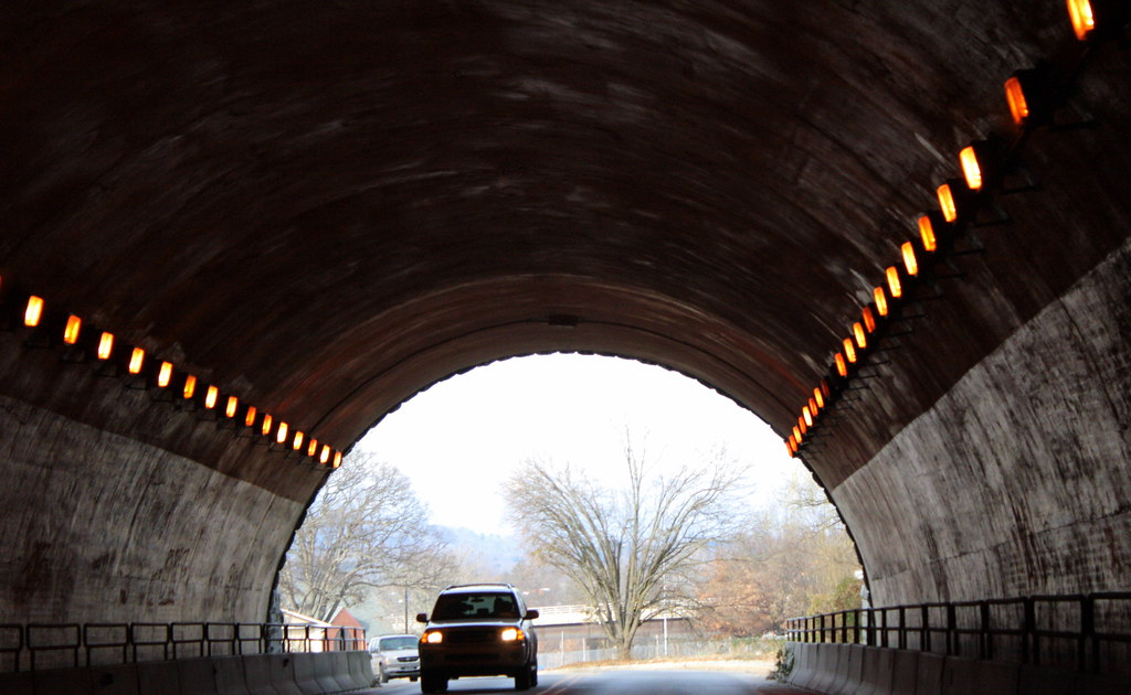 Tunnel of Tunnel Road, Asheville, NC | Jackie | Flickr