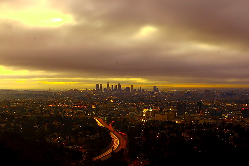The rain clouds wanted to refuse to leave Los Angeles | by © In 2 Making Images | °L.A.
