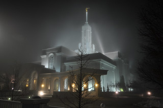 0878-Mount Timp LDS Temple in Fog 12-25-10 | by Adam's Attempt (at a good photo)