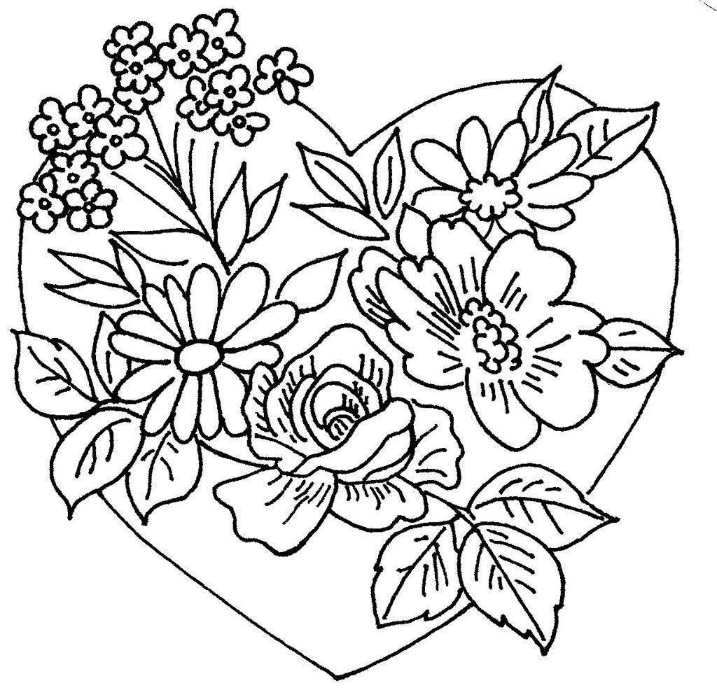Heart And Flowers 2
