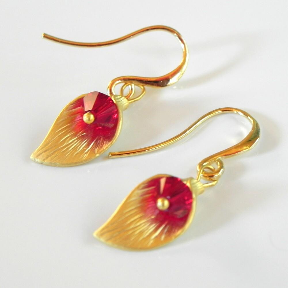 Gold Earrings New Designs