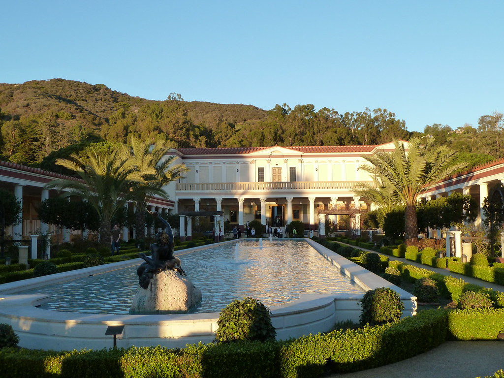 Getty Villa - Outer Peristyle | Outer Peristyle | Dave U0026 Margie Hill / Kleerup | Flickr