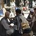 Street barber in Kabul