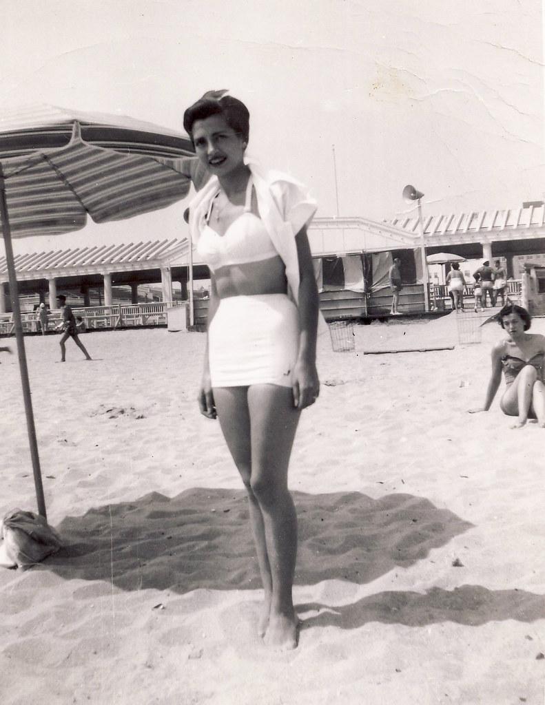 Bathing Beauty Jones Beach 1950 Jones Beach Was The