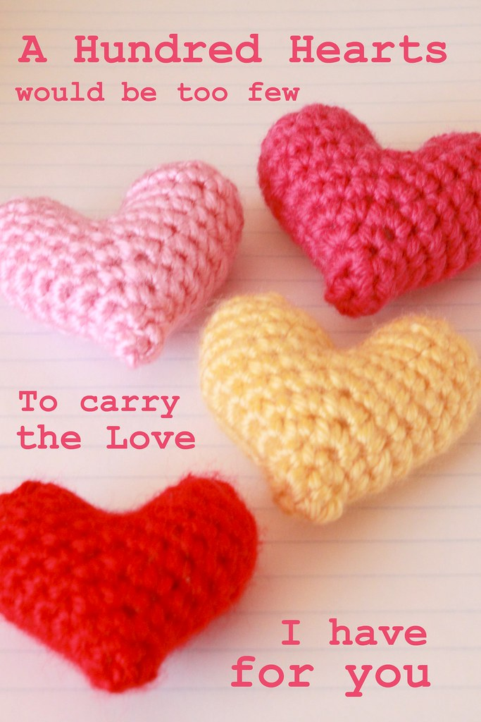 Free Crochet Pattern For Linked Hearts Legitefo For