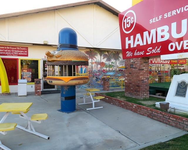 Primer McDonalds de Estados Unidos en la ciudad de San Bernardino