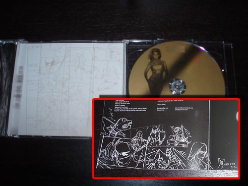 101126(1) - 動畫監督「長濱博史」控告音樂專輯《雙面碧昂絲 I Am… Sasha Fierce》CD歌詞本擅自盜用「動畫分鏡稿」,嚴重侵犯著作權。