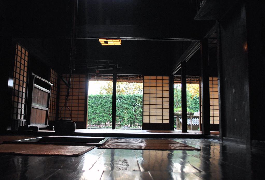 岡本古民家園(旧長崎家) Okamoto Folk House 18c Edo Era 囲炉裏ばた