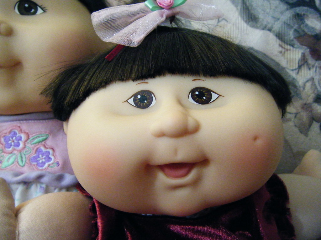Asian baby cabbage patch