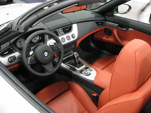 2011 Bmw Z4 Convertible Interior Classy Red And Black Color Combo Flickr Photo Sharing