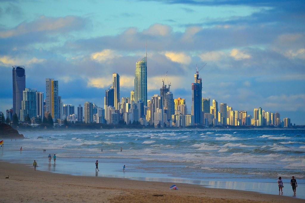 Wallpaper Burleigh Heads Beach Gold Coast Queensland: Gold Coast Queensland Australia