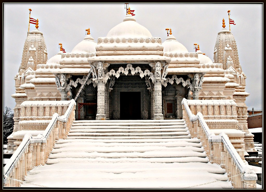 Biggest Hindu Temple In United States This Building Is