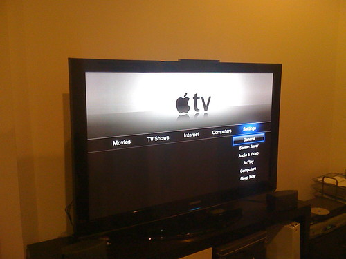 Apple TV - Setup and Synched up | by jonlclark