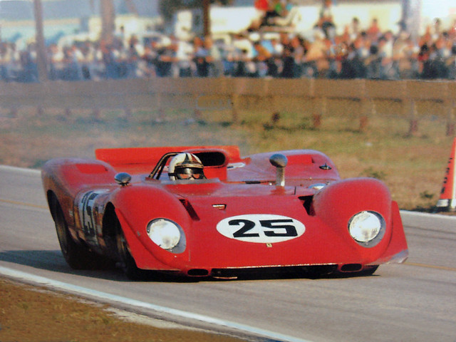 Andretti Amon Ferrari 312p At Sebring 1969 Flickr
