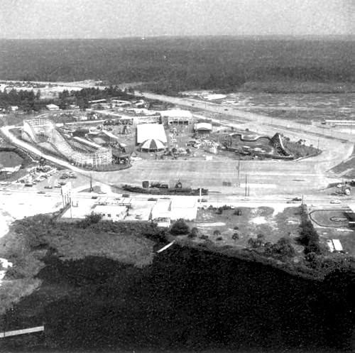 Aerial View Of Petticoat Junction Amusement Park, Panama C