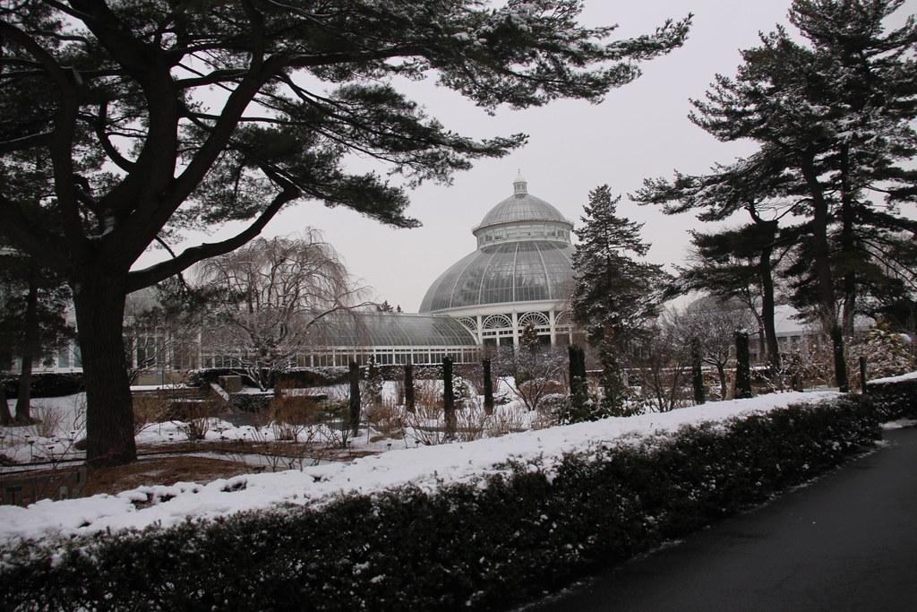 The New York Botanical Garden In Winter The Bronx Flickr