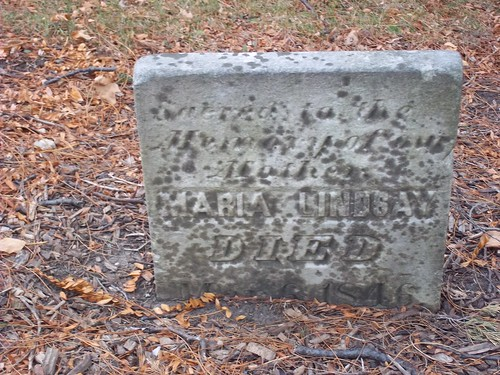 Pioneer Cemetery - Grave K | by Barrington Area Library Local History