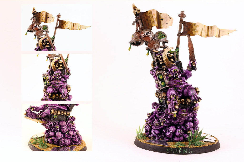 Warhammer 40k Epidemus Another Miniature Painted By My