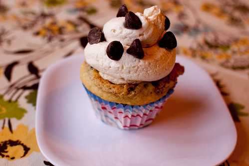 cookie dough cupcake | by bakedfish