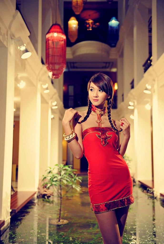 Beautiful Thai Girlportrait Photoshop  Woman  Fashion -8489