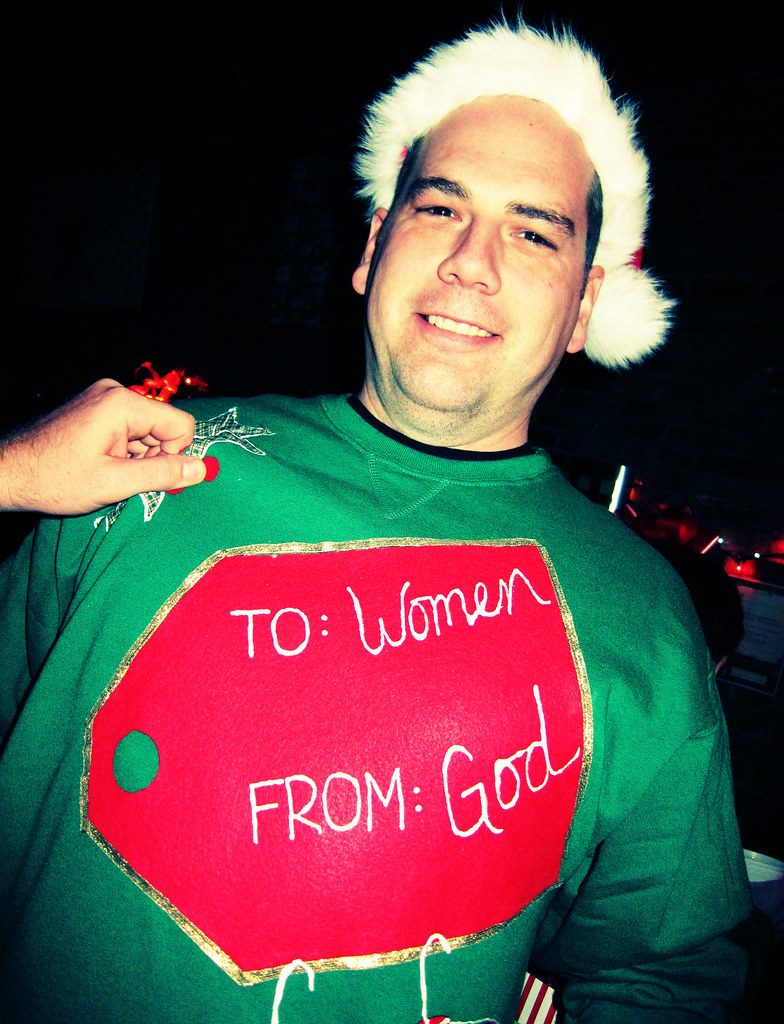Bilderesultat for funny ugly christmas sweaters