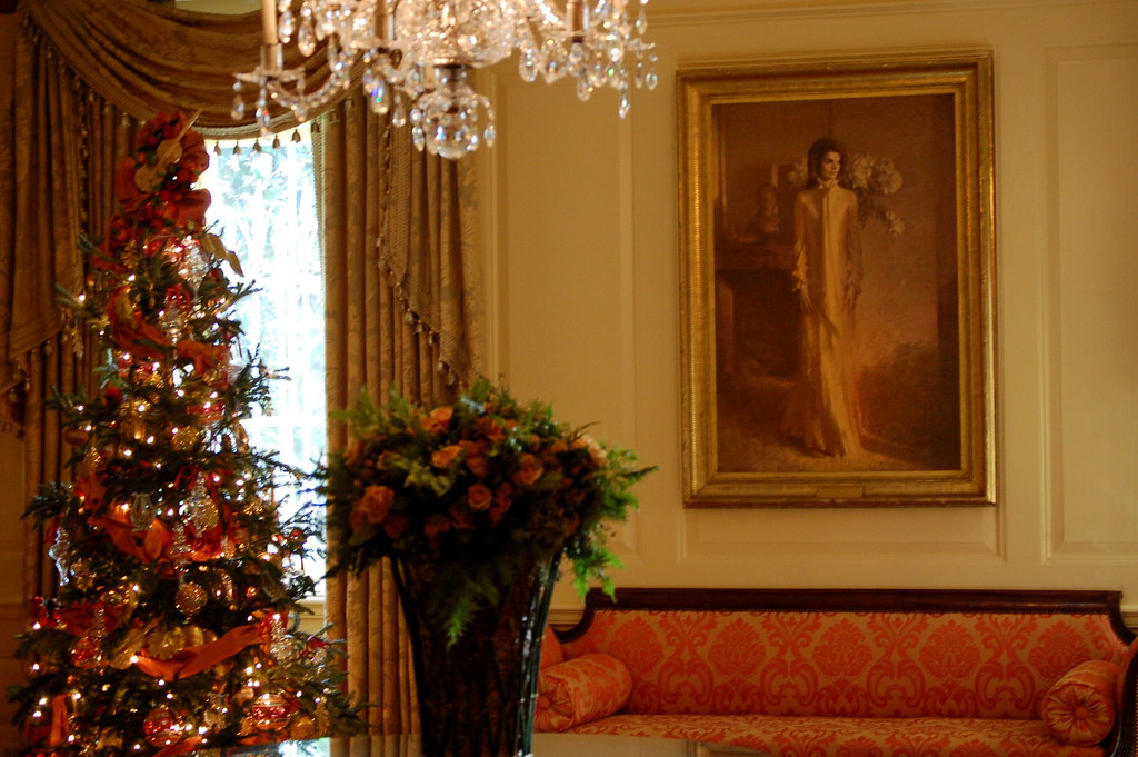 The White House Holiday Tour 2010 The Yellow Room Was
