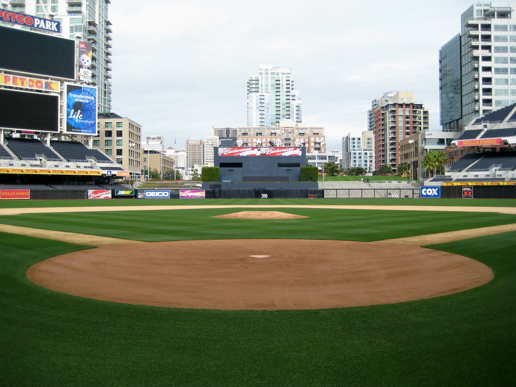 Dead Center From Home At Petco Park San Diego CA Dece