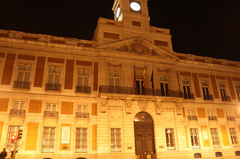 Real casa de correos puerta del sol peurta del sol is Casa del correo