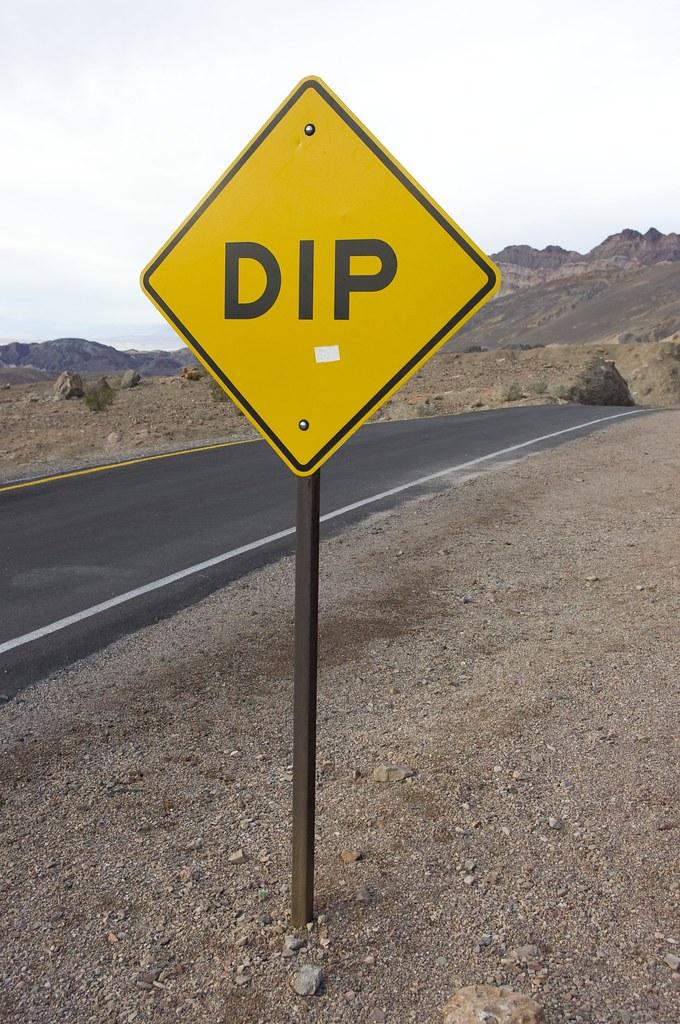the ubiquitous dip sign   joe futrelle   flickr