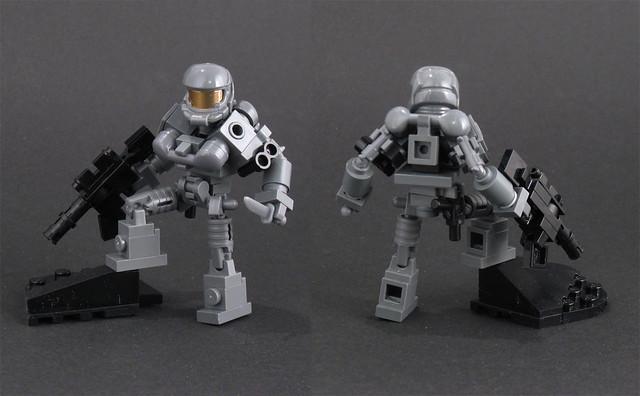 Lego Halo Toys : Halo type action figure flickr photo sharing