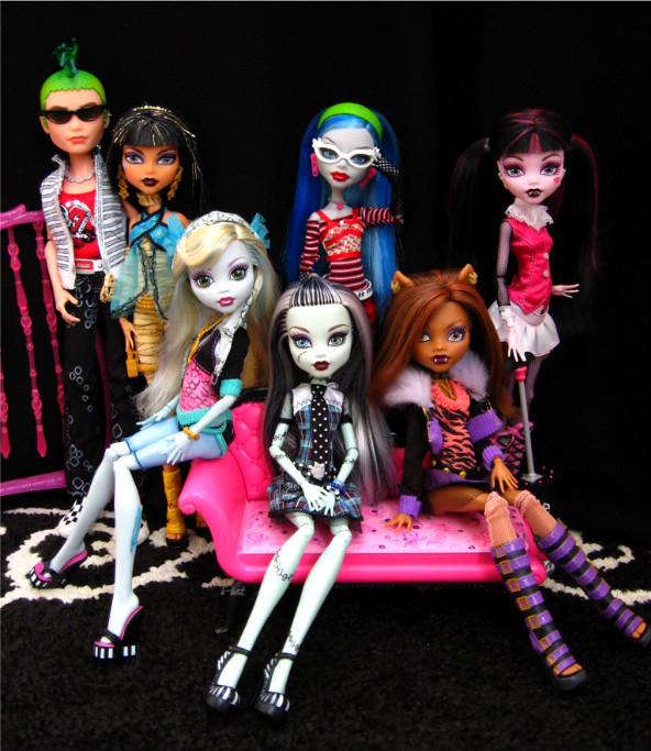 The Monster High Ghouls | WOW!! Almost 600 views and a ...
